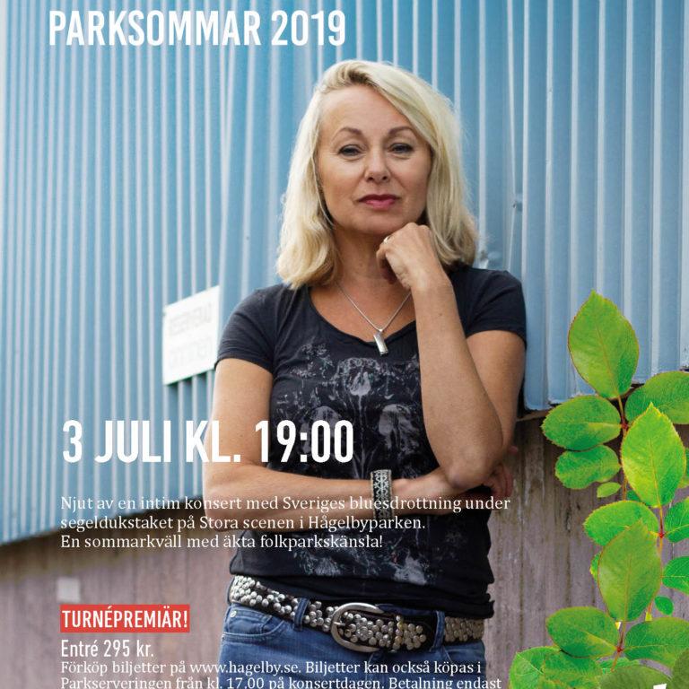 Konsertaffisch med Louise Hoffsten